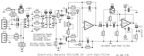 Pcb Balanced Pre Mic Microphone Circuit Page 2 Audio Circuits Next Gr