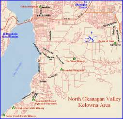kelowna canada map maps page for the wineries of the summerland and kelowna