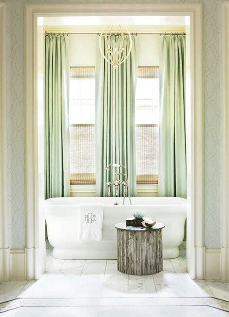 long green curtains 1248 best bath bits images on pinterest bathroom