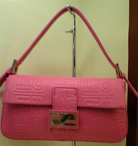Fendi 10th Anniversary Baguette Designer Handbag Ae Only 40 Made by Fendi Designer Handbag Bible