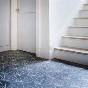 white and black cement starburst tiles design ideas