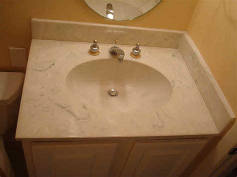 Refinishing Cultured Marble Vanity Tops by Bathtub Refinishing Bathroom Refinishing And Kitchen