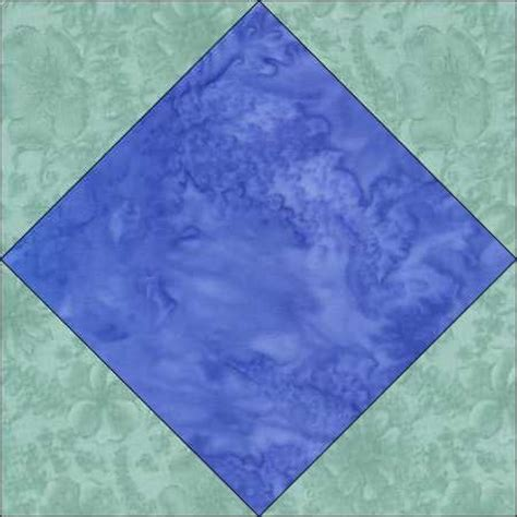 in diamond square a pieced blocks diamond in a square