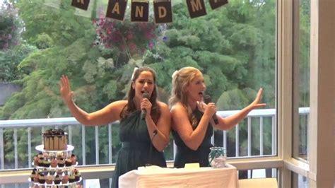 Best Wedding Speech   Disney Medley ~~~ I love their hair