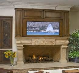 it s not a home without a fireplace and a tv mounted above it