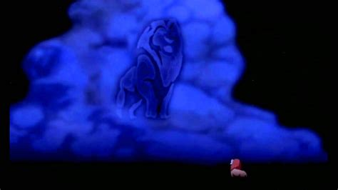 film lion on sky the lion king mufasa s ghost german hd youtube