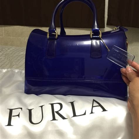 Furla Jelly Bag Preloved 24 furla handbags furla jelly bag from chan s closet on poshmark