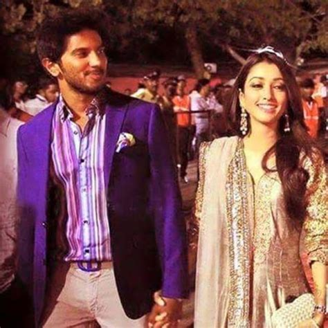Dulquer Salmaan wishes his wife Amal Sufiya on their 5th