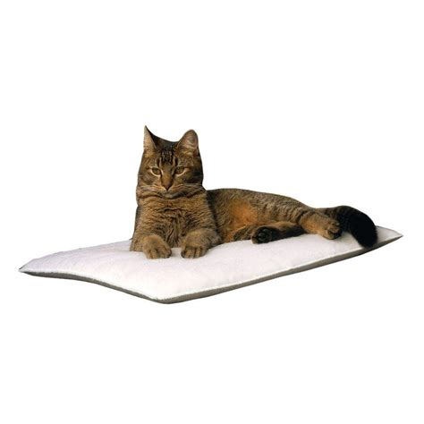 k h thermo kitty heated cat bed k h pet products thermo kitty sleep house small medium tan