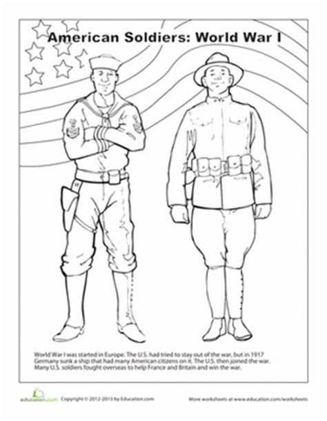 coloring pages world war 1 ww1 soldier coloring coloring pages