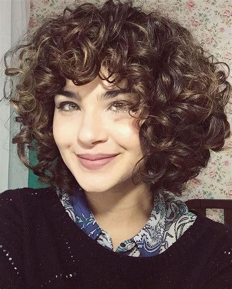pin curl bangs short layered curly hair with bangs my shit hair