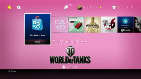 girl themes for ps4 ps4 gets free world of tanks girls und panzer theme
