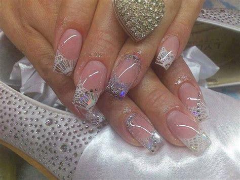 imagenes de uñas blancas con plata u 241 as acr 237 licas paso a paso para colocarlas y lucir unas