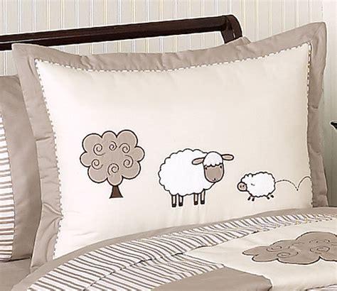 lamb nursery bedding sweet jojo designs ivory neutral lamb sheep girl boy kid