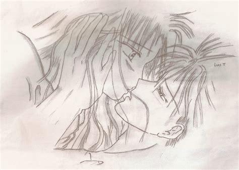imagenes de parejas romanticas para dibujar anime en pareja por luistorresblinker dibujando