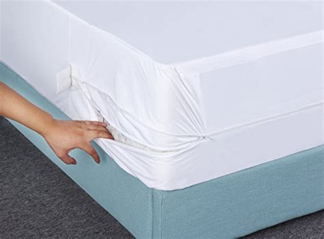 zippered pillow cover encasement waterproof bed bug proof mattress zippered encasement bug proof waterproof mattress