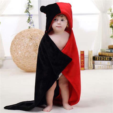 Selimut Baby Hoodie Blanket black and flannel gemini baby hoodie blanket n10382