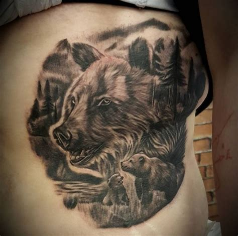 tattoo family bear 50 amazing bear tattoos designs and ideas 2018 page 5