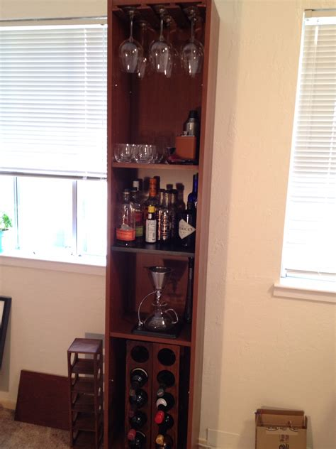 Pre Made Wine Racks by Booze Bookshelf With Leds And Built In The