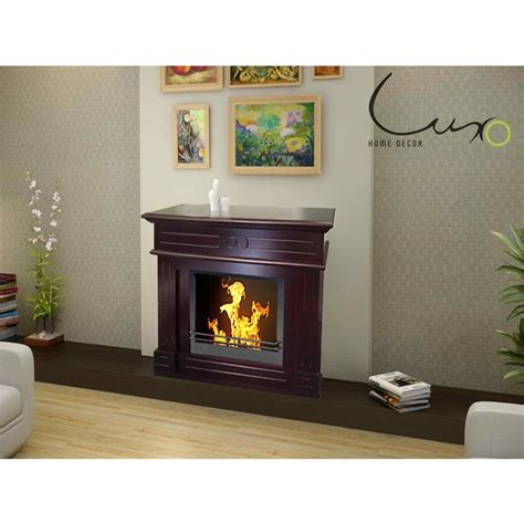 Buy Ethanol Fireplace by Aztec Bio Ethanol Mantel Gas Fireplace In Brown Buy