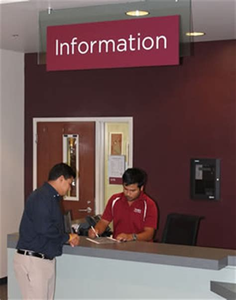 Student Center Services Student Center Information Desk