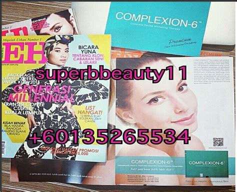 Infus Complexion 6 every deserves to be pretty complexion 6 suntikan