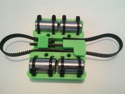 Prusa I3 Vanilla Printed Part prusa i3 rework x carriage with gt2 belt tensioner by
