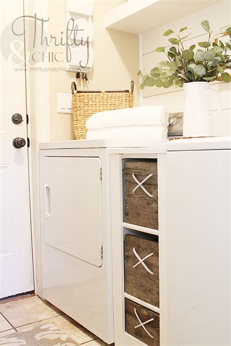 cabinet between washer and dryer thrifty and chic diy projects and home decor