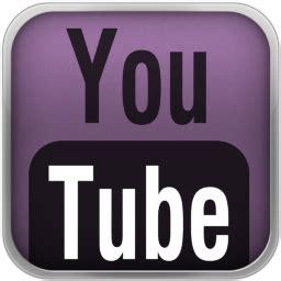 purple youtube black icon mark youtube icons