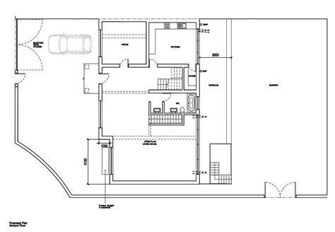 proposed living room floor plan blogged about today pictures show 163 1m wimbledon home that collapsed overnight