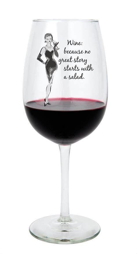 wine glass sayings when you ve had a rough day these wine glasses understand