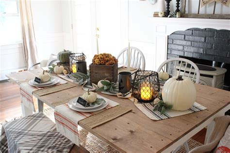 rustic halloween dining table decor dining table