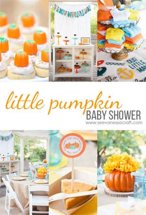 Pumpkin Baby Shower by Pumpkin Baby Shower See Craft