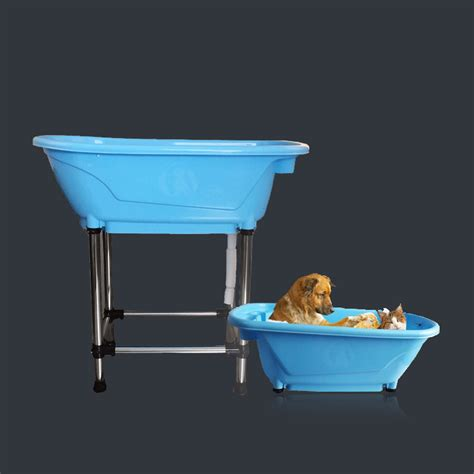 dog bathtubs for home use pet dog cat puppy washing shower grooming portable bath