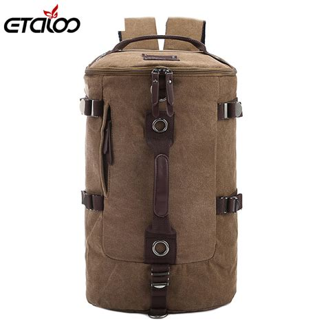 Tas Travel Traveling Travelling Traveller Traveler Bag large capacity travel bag mountaineering backpack bags canvas shoulder bag 012 in