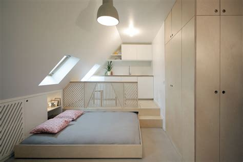 d馗o chambre chambre mansard 233 e transform 233 e en 2 pi 232 ces cuisine