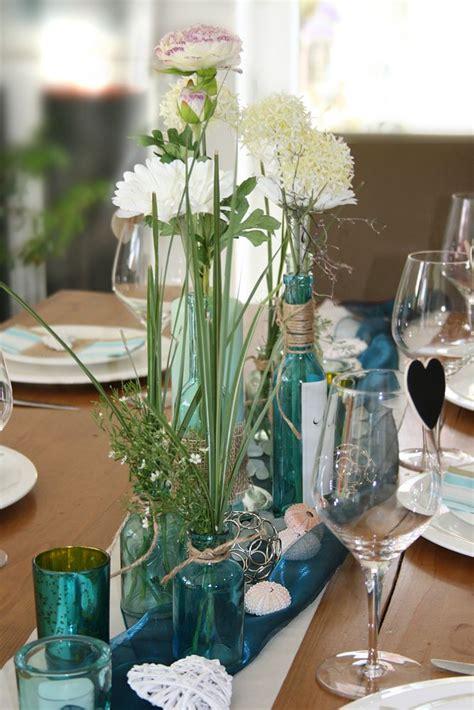 Tischdeko Hochzeit Mint by Tischdekoration T 252 Rkis Mint Wedding Decoration Tischdeko