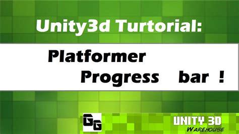 construct 2 progress bar tutorial unity3d platformer progress bar tutorial 10 youtube