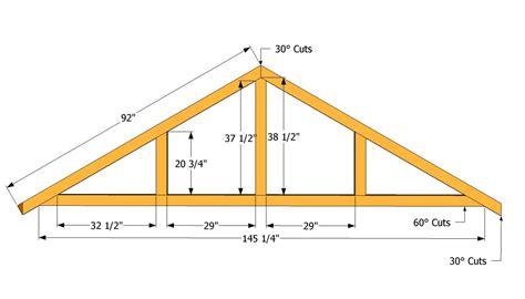 build  roof    shed diy building