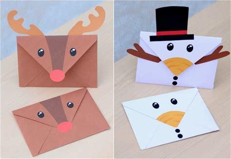 Brief Weihnachtsmann Schweiz 15 Ideen Wie Sie Einen Einfachen Briefumschlag Weihnachtlich Gestalten