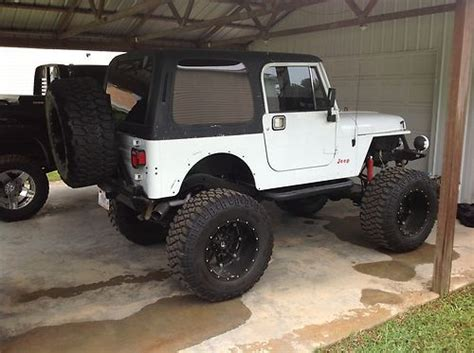 Lifted 2 Door Jeep Sell Used 1992 Jeep Wrangler Base Sport Utility 2 Door 4