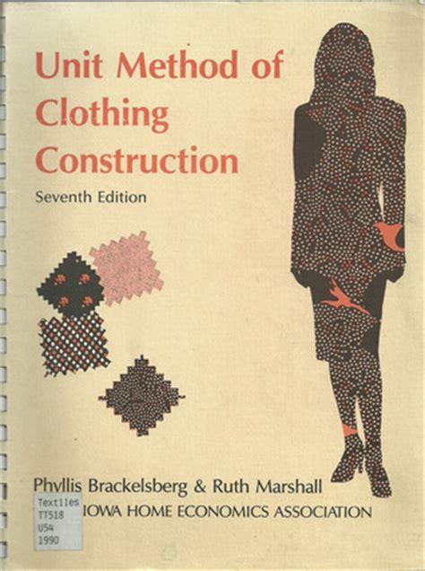 unit method  clothing construction  phyllis