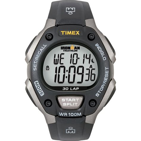 timex t5e901 s ironman triathalon 30 black