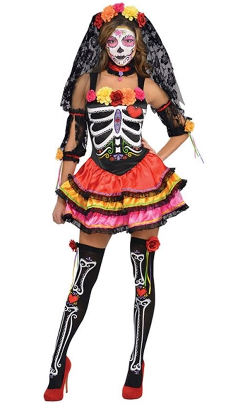 day   dead senorita costume  amscan