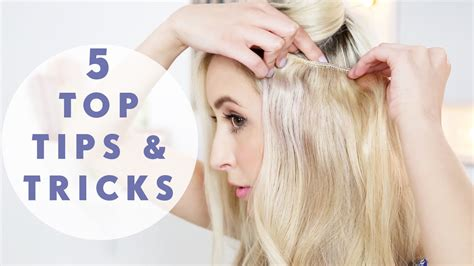 hairstyles to cover hair extensions 5 must know hair extensions tricks youtube