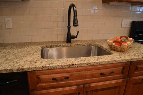 kitchen backsplash with cabinets subway tile backsplash with cherry cabinets deductour com