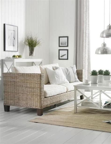 wicker living room wicker furniture adding cottage decor feel to modern living room designs