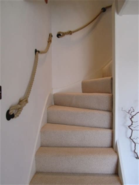 rope banisters for stairs customer photos rope and splice your rope project made easy