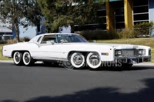 Eldorado Cadillac Eight Wheeled Cadillac Eldorado With Tub Barbecue Up