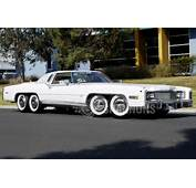 Eight Wheeled Cadillac Eldorado With Hot Tub Barbecue Up For Auction